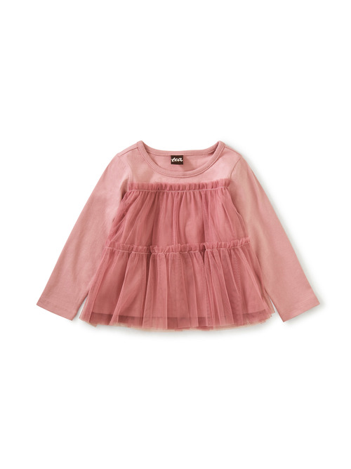 Twirling Tulle Top