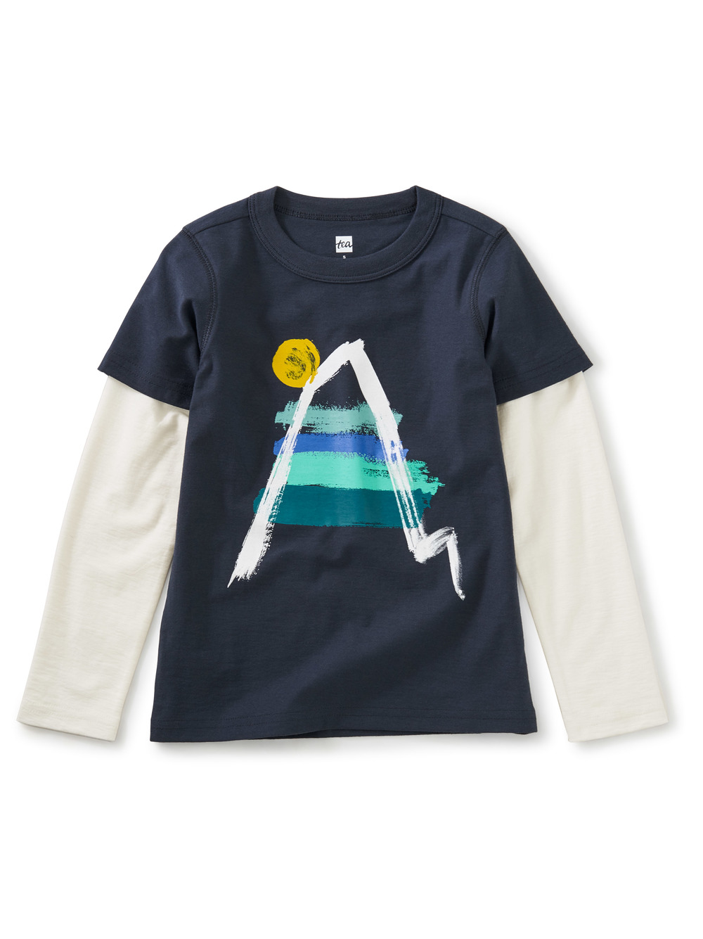 It's Climb Time Layered Graphic Tee