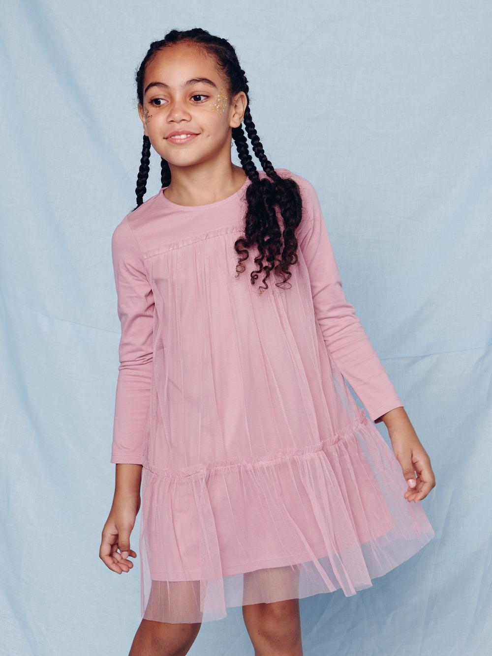 Twirling Tulle Dress