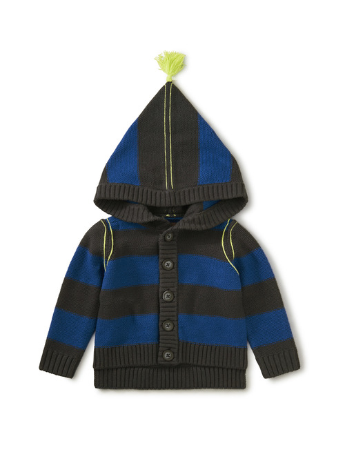 Hooded Tassel Sweater