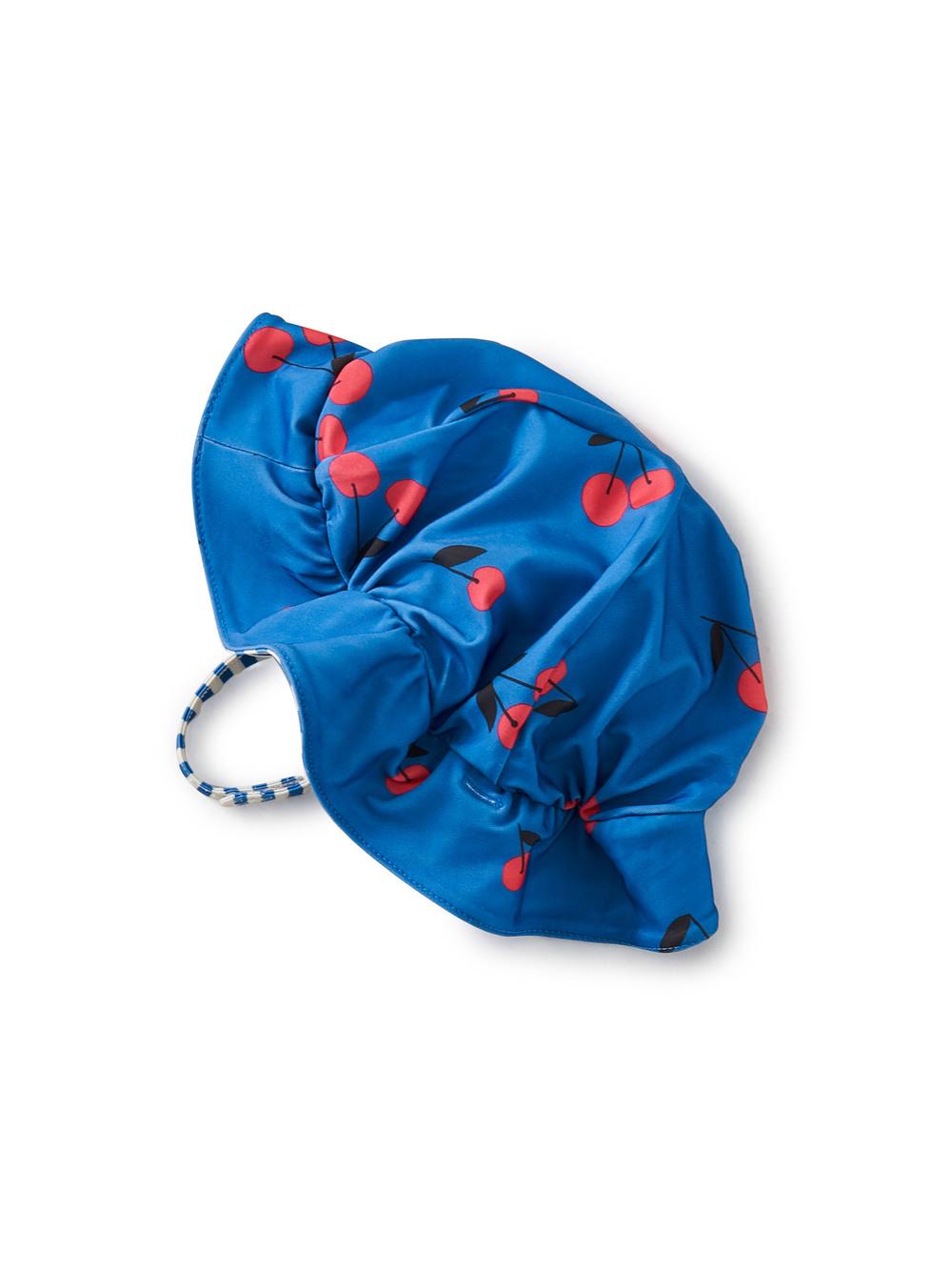 Reversible Ruffle Baby Hat
