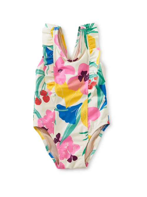 One-Piece Ruffle Baby Swimsuit