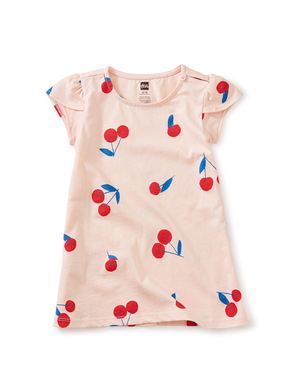 Petal Sleeve Baby Dress