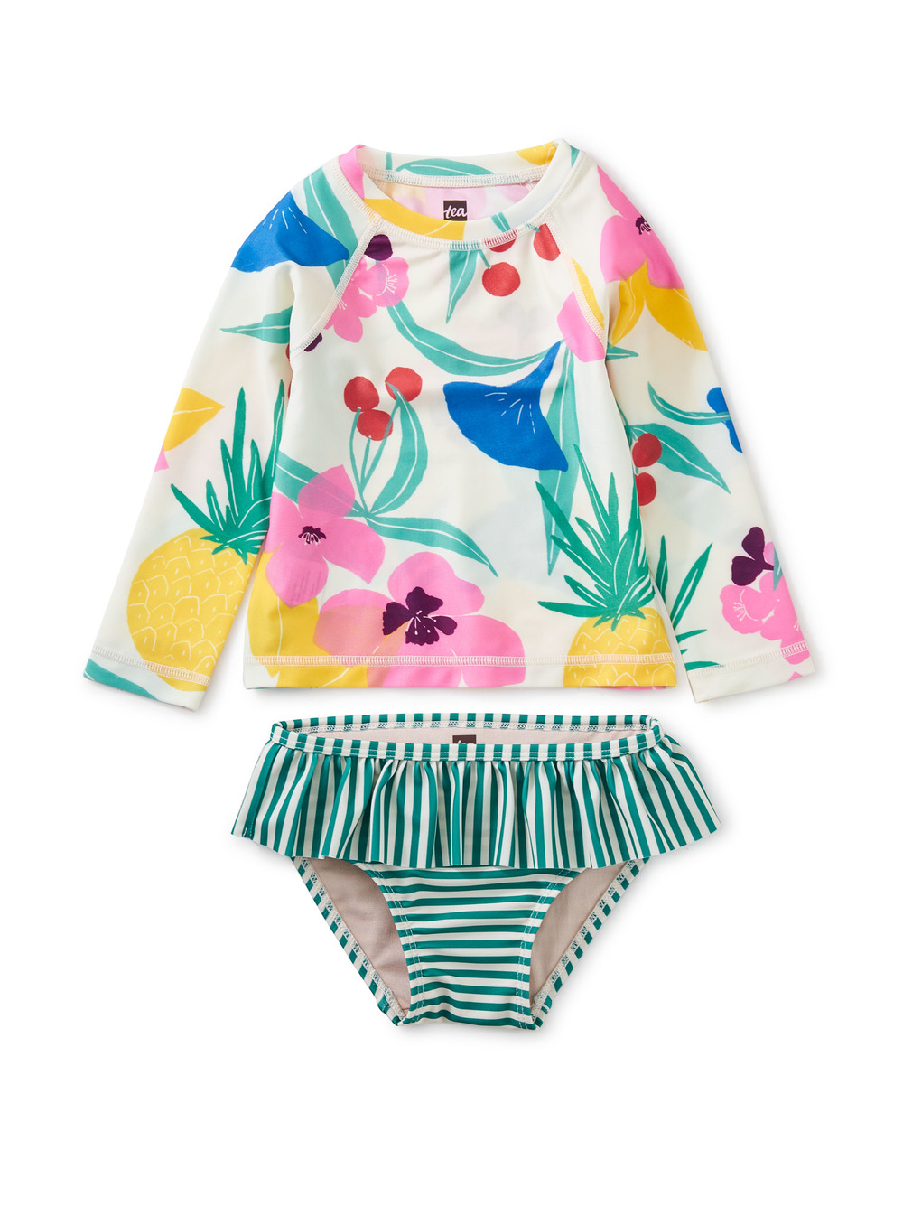 Rash Guard Baby Swim Set