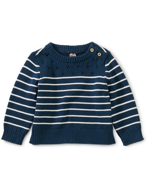 Breton Stripe Baby Sweater
