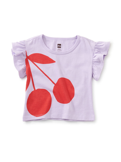 Cherry on Top Flutter Tee