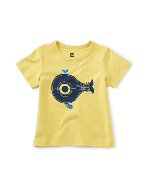 Whale Song Graphic Tee