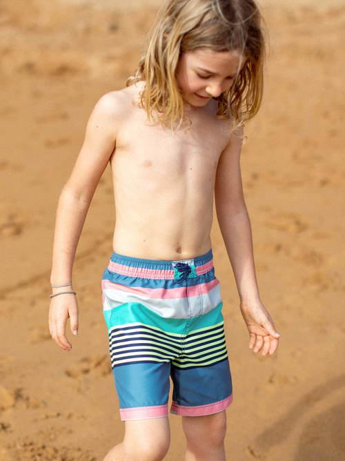 Mid-Length Swim Trunk