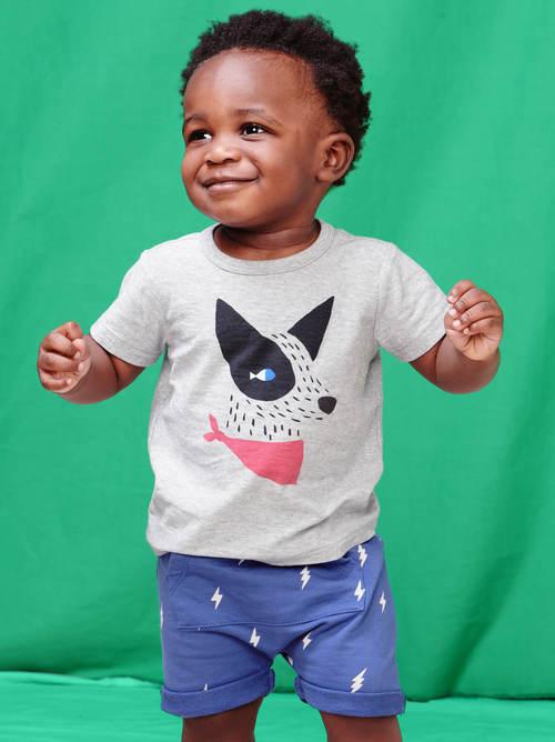 Pocket O' Sunshine Baby Shorts