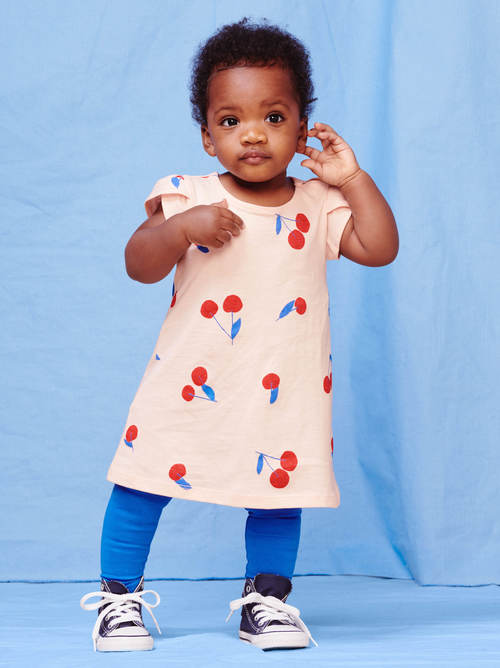 Petal Sleeve Baby Dress