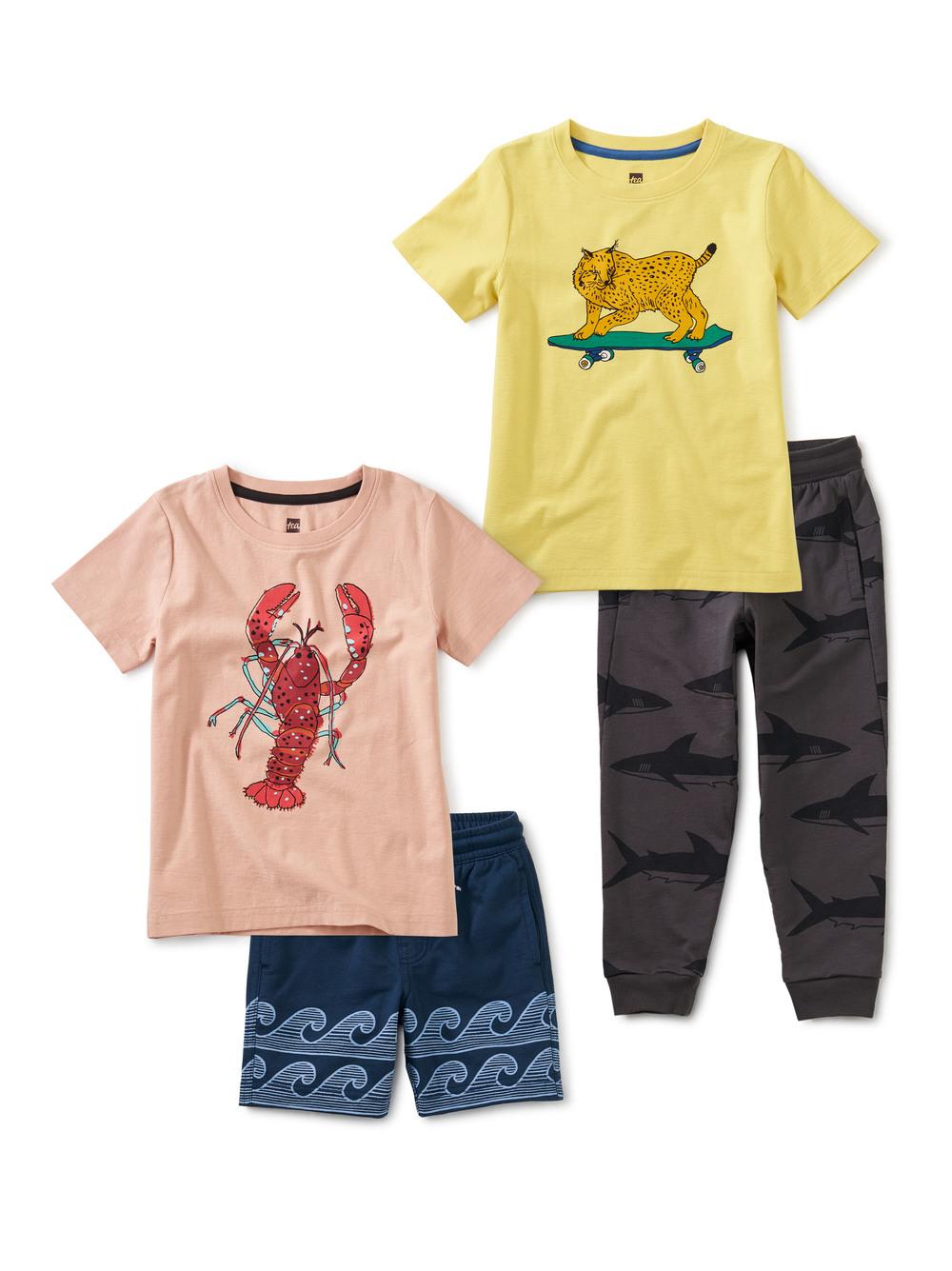 Lynx & Lobster Set