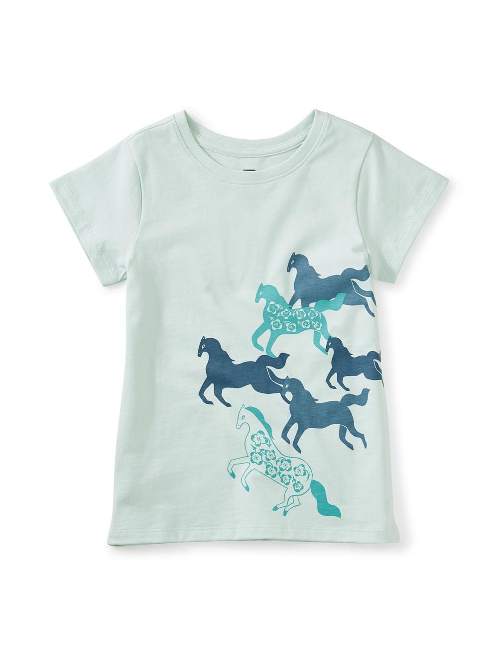 Iberian Horses Graphic Tee