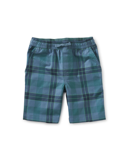 Plaid Discovery Shorts