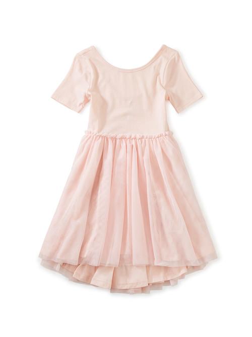 Tulle Sleeve Ballet Dress