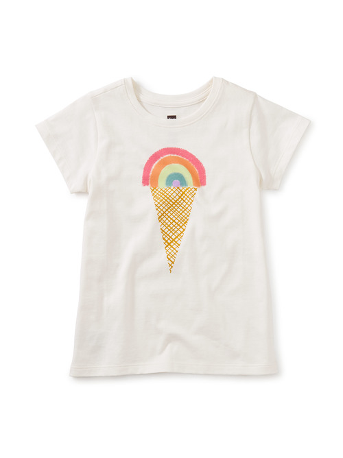 Rainbow Ice Cream Graphic Tee