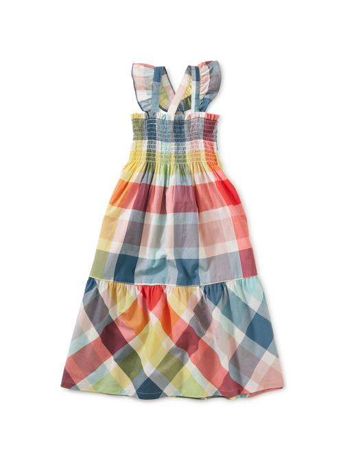 Smocked Midi Dress