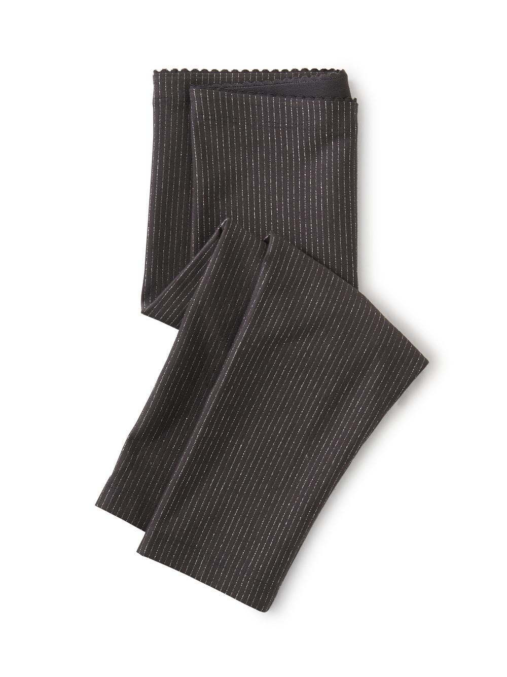 Sparkle Stripe Capri Leggings