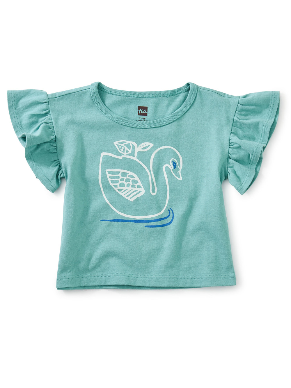 Swan Flutter Sleeve Tee