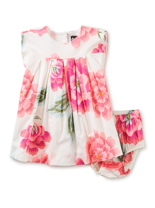 Sateen Baby Dress Set