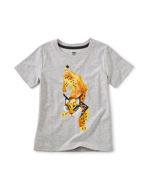 Lively Lynx Graphic Tee