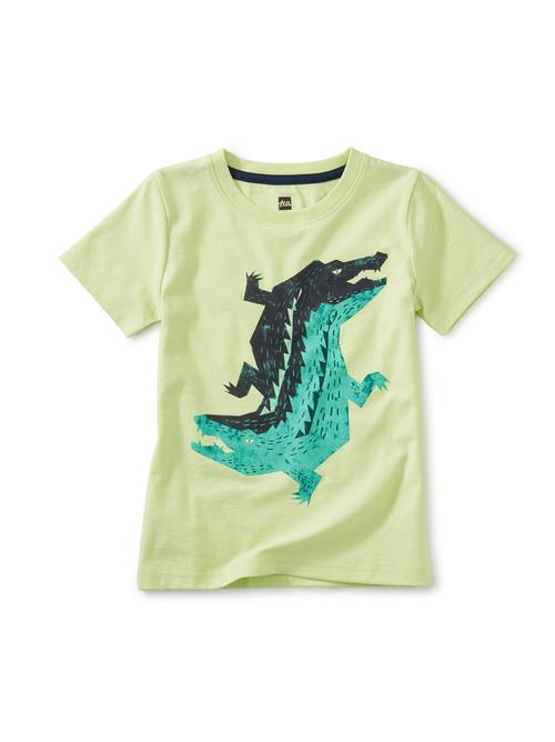 Dueling Crocodiles Graphic Tee