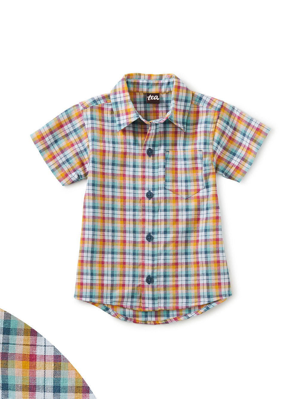 Button Up Baby Shirt