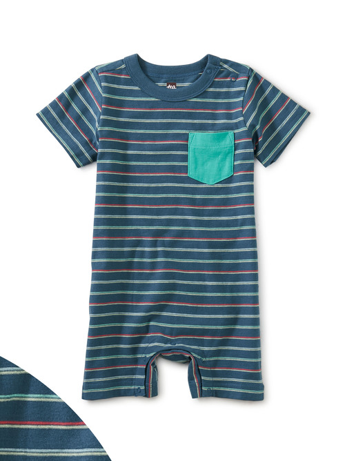 Pop Pocket Shortie Baby Romper