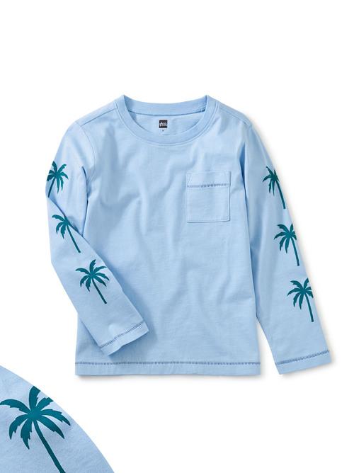 Palm Sleeve Graphic Tee
