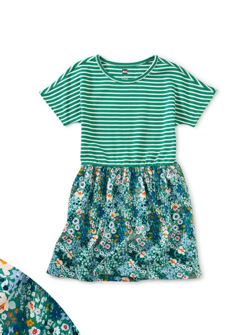 Print Mix Twirl Dress