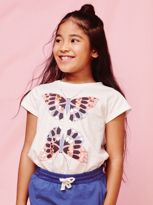 Butterfly Mirror Graphic Tee
