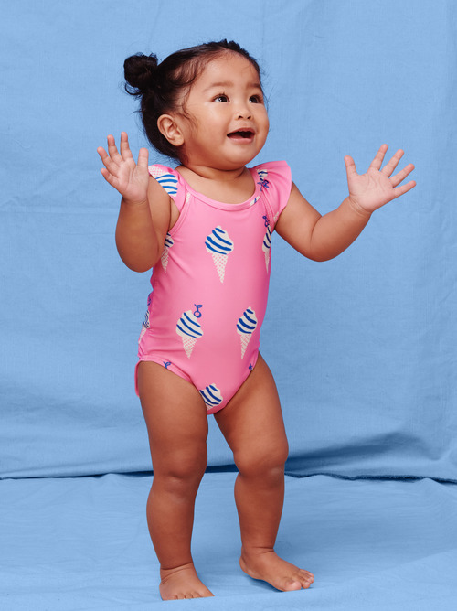 One-Piece Baby Swimsuit