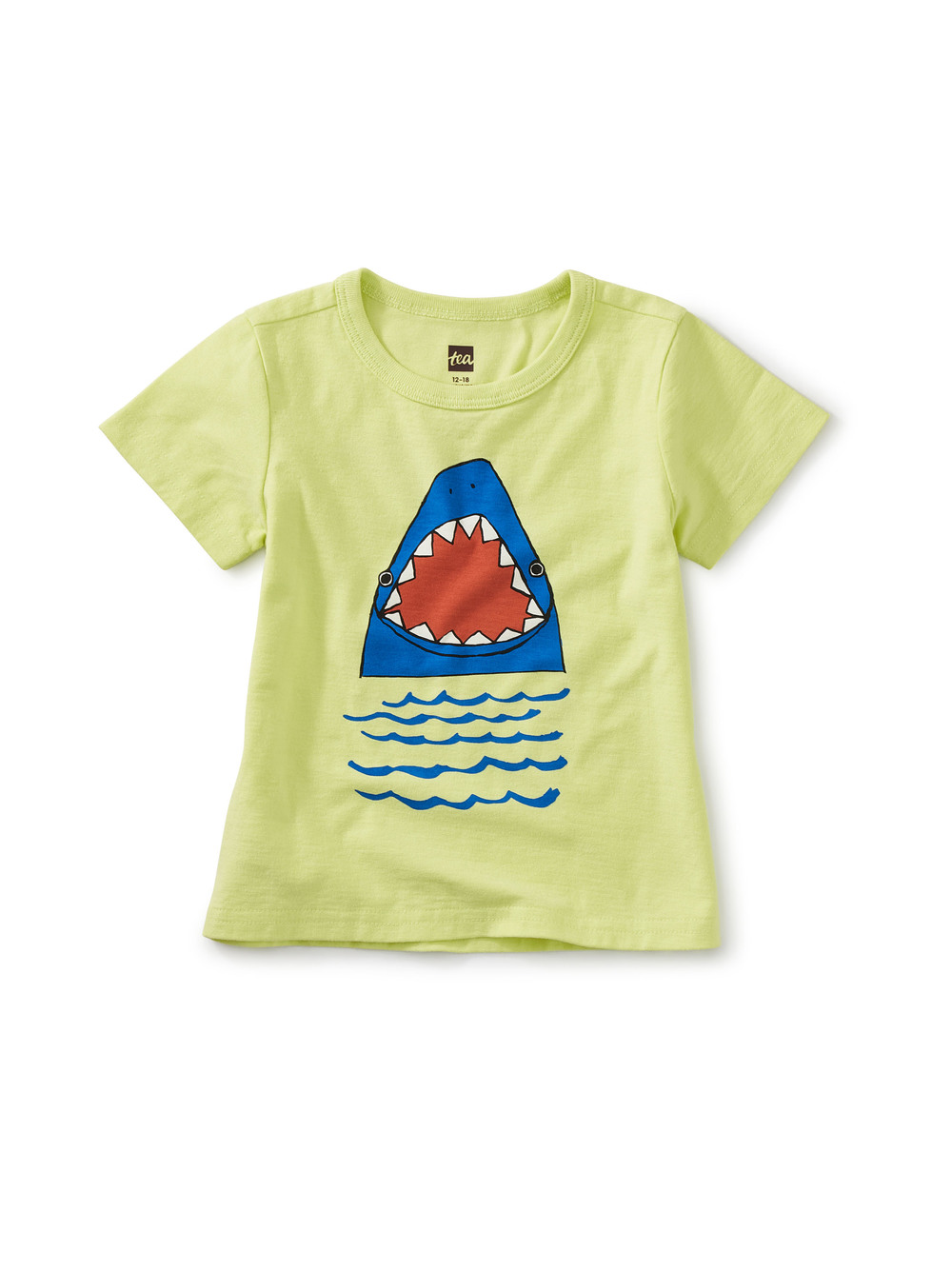 Shark Pup Double-Sided Baby Graphic Tee