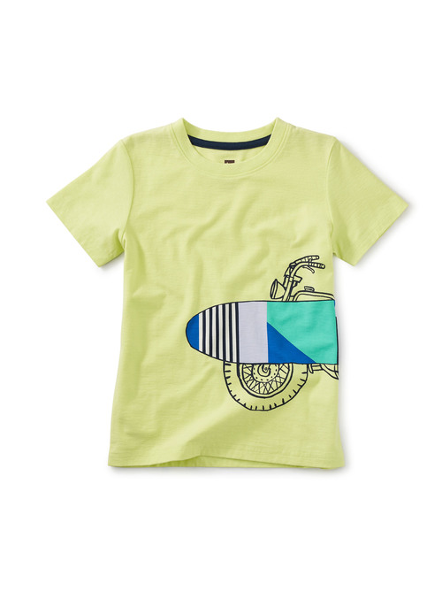 Surf Cycle Graphic Tee