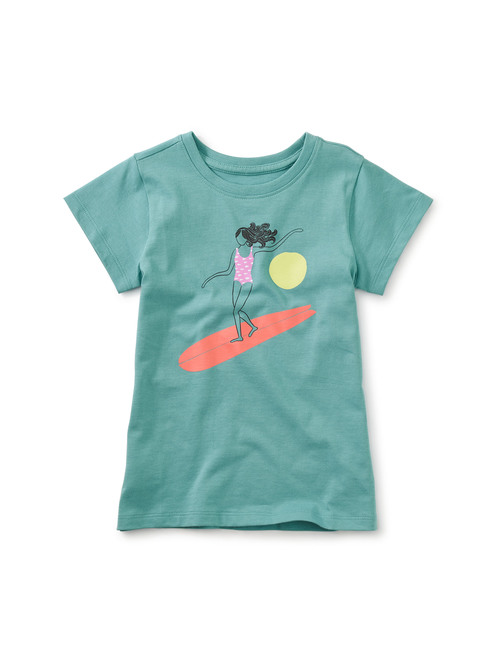 Lizzy Lizzy Surfer Girl Graphic Tee