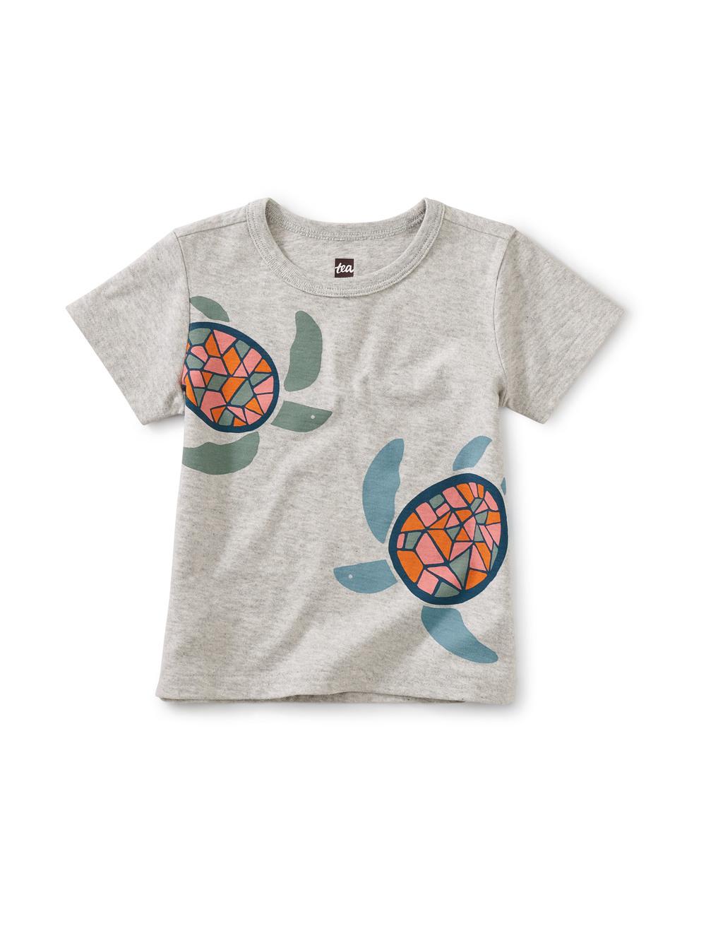 Sea Turtles Baby Graphic Tee