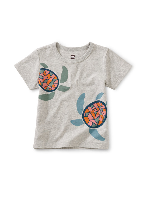 Sea Turtles Baby Graphic Tee