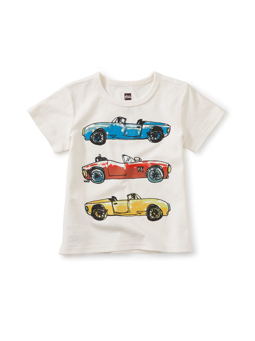Fast Car Baby Graphic Tee