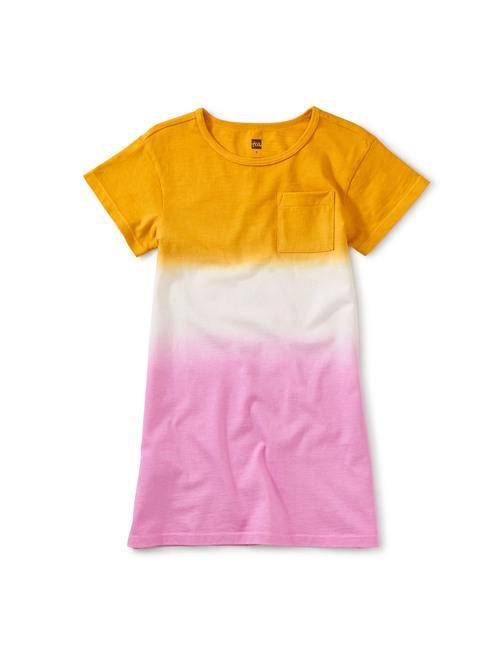 Dip-Dye T-Shirt Dress
