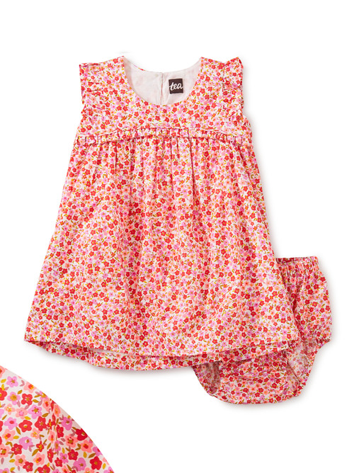 Empire Flutter Baby Dress Set