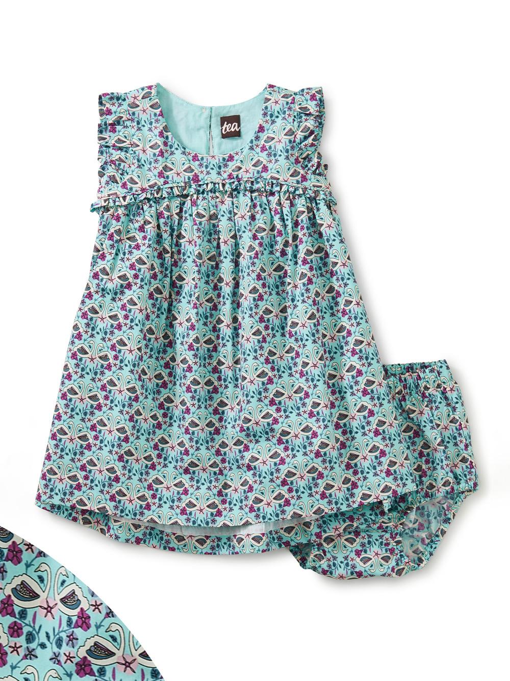 Empire Flutter Baby Dress Set