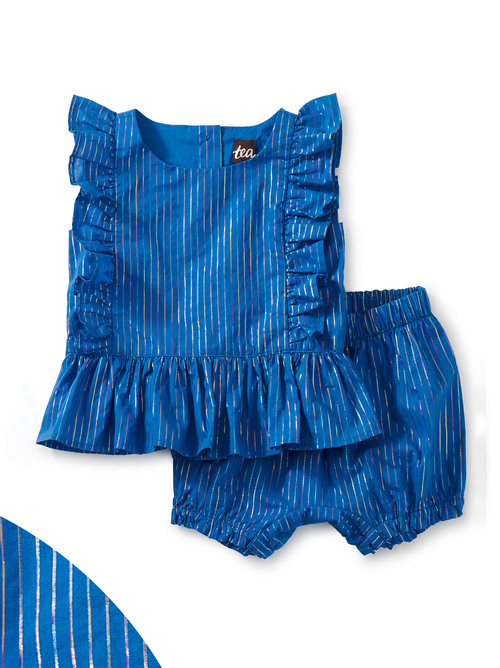 Side Ruffle Baby Set