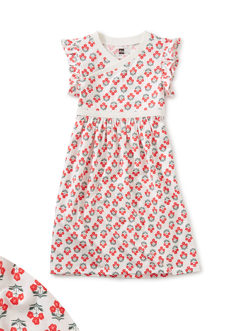 Wrap Neck Dress