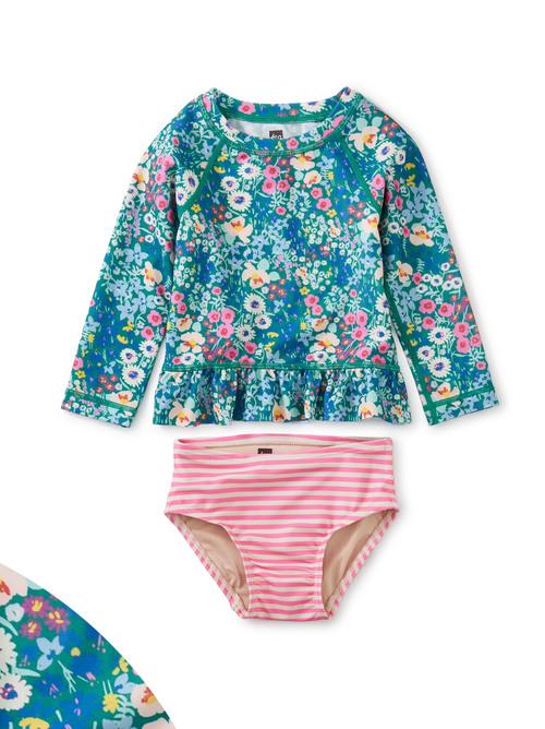 Rash Guard Baby Swim Set