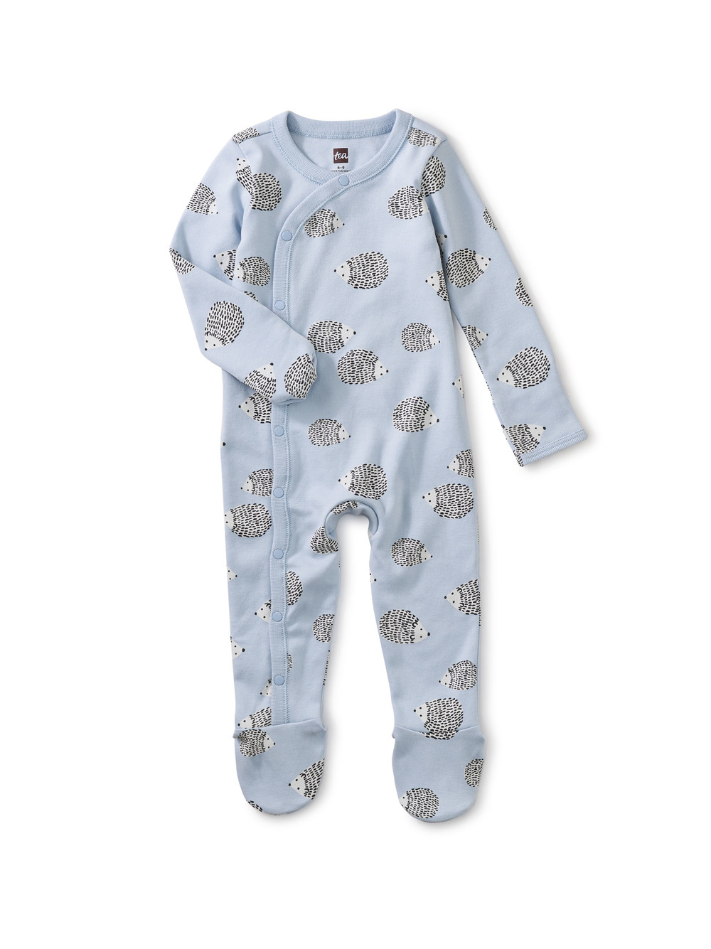 Side Snap Footed Baby Romper