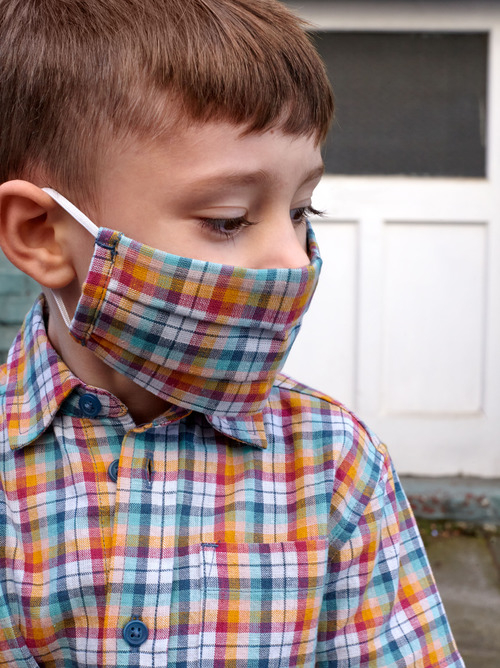Tea Woven Kids Mask (2-Pack)