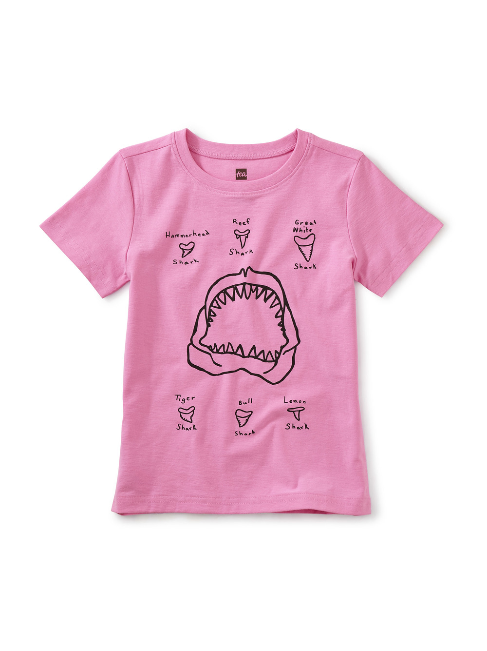 Shark Teeth Graphic Tee