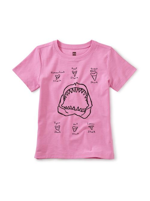 Shark Teeth Graphic Tee