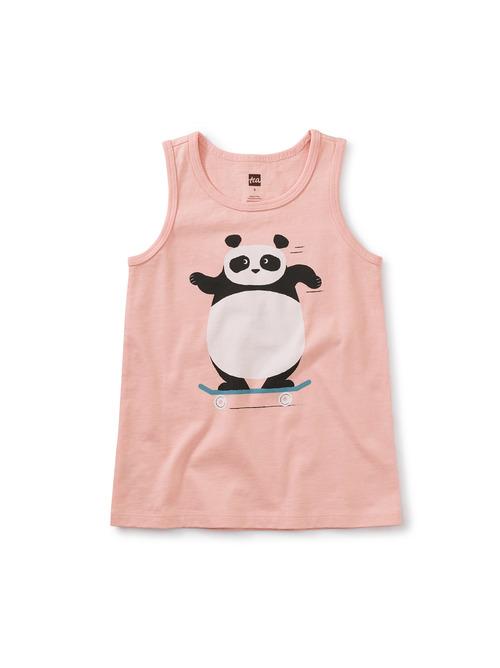 Skater Panda Tank