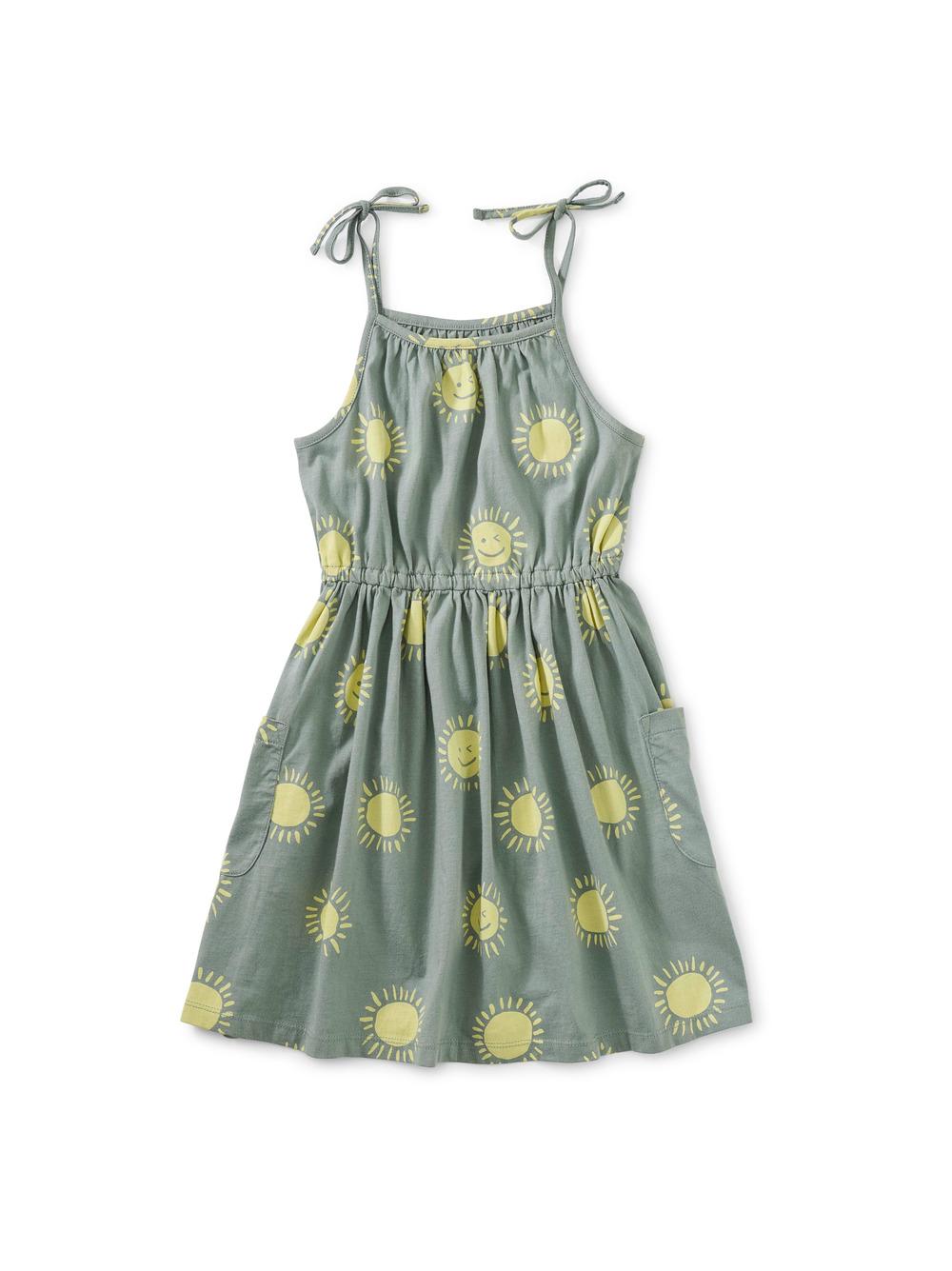 Tie Shoulder Dress