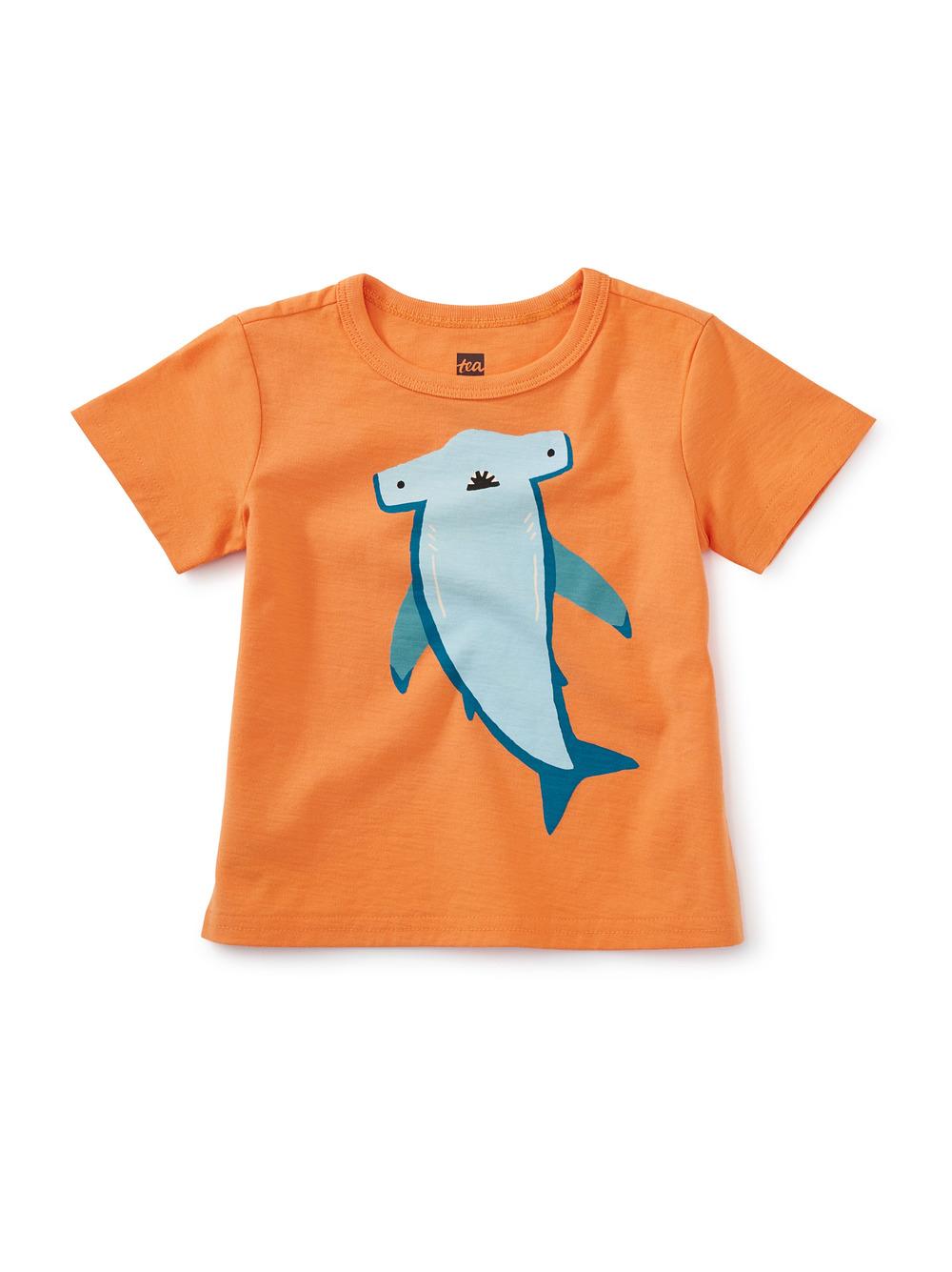 Hammerhead Shark Baby Graphic Tee